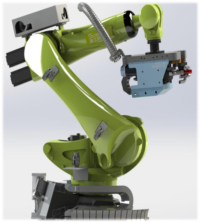 将机器视觉引入飞机装配细分市场,「神工科技」研发智能制孔机器人