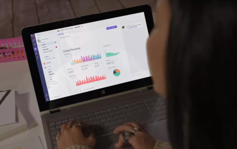 企业聊天争夺:微软Teams日活1300万用户反超Slack