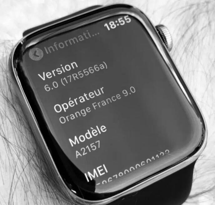 疑似 Apple Watch S5 照片首曝 没有大变化
