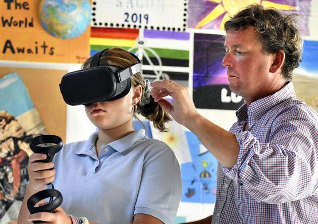 Powhatan大学利用VR技术帮助学生学习