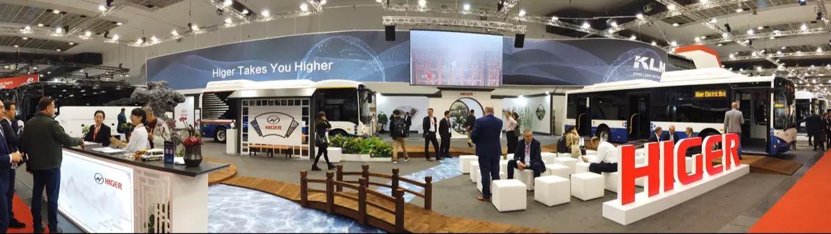 中国制造生力军!世界客车博览会上的苏州金龙海格客车