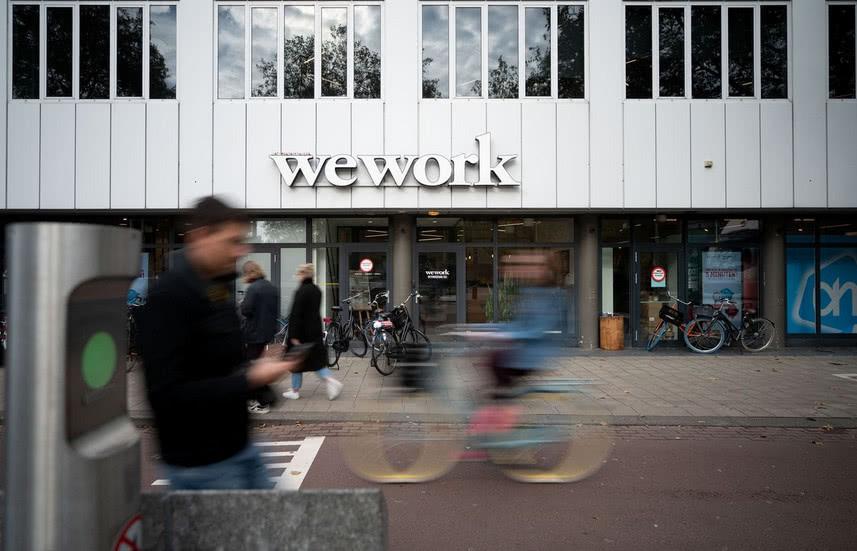 """WeWork拿到""""救命贷款"""":高盛支持18亿美元"""